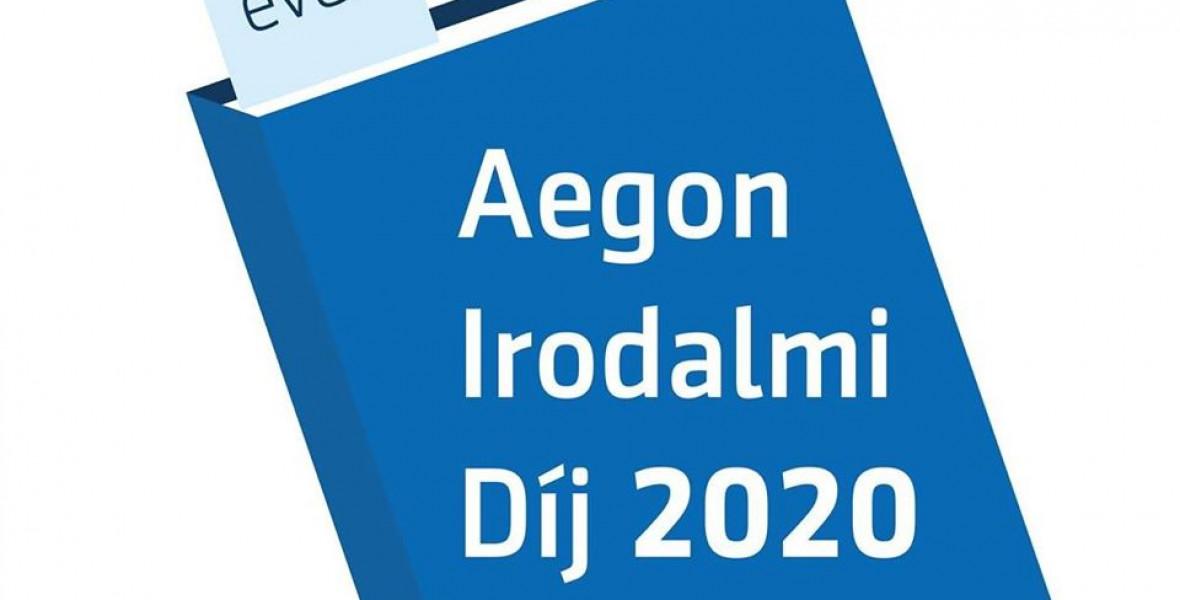 Öt könyv verseng a 2020-as Aegon-díjért