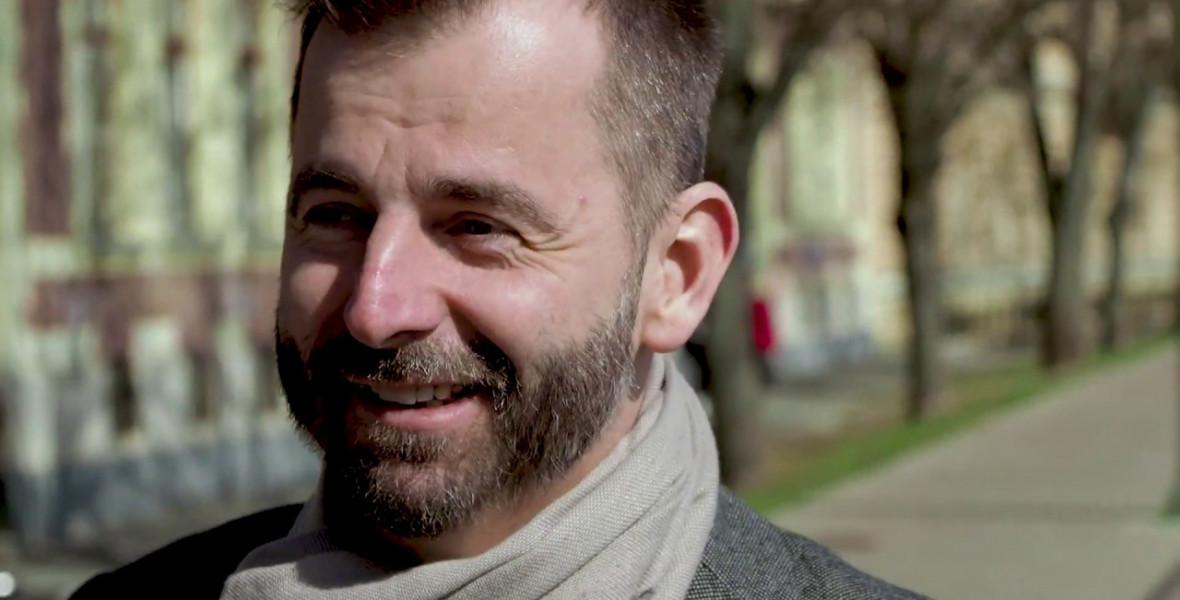 Grecsó Krisztián: Egy ötletem valósul meg ezzel a díjjal