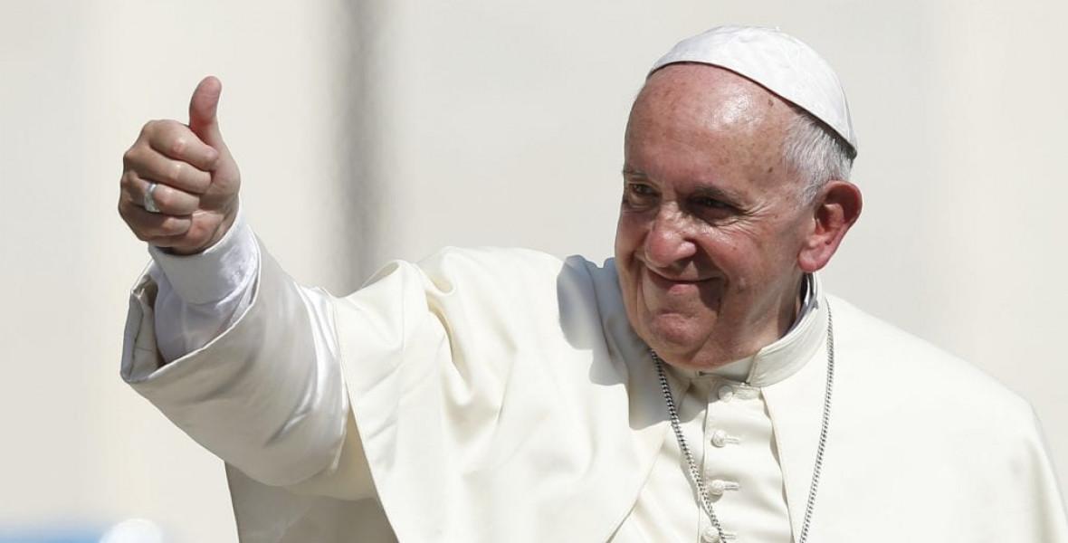 """""""Ez az ember póz nélküli"""" - 80 éves Ferenc pápa"""