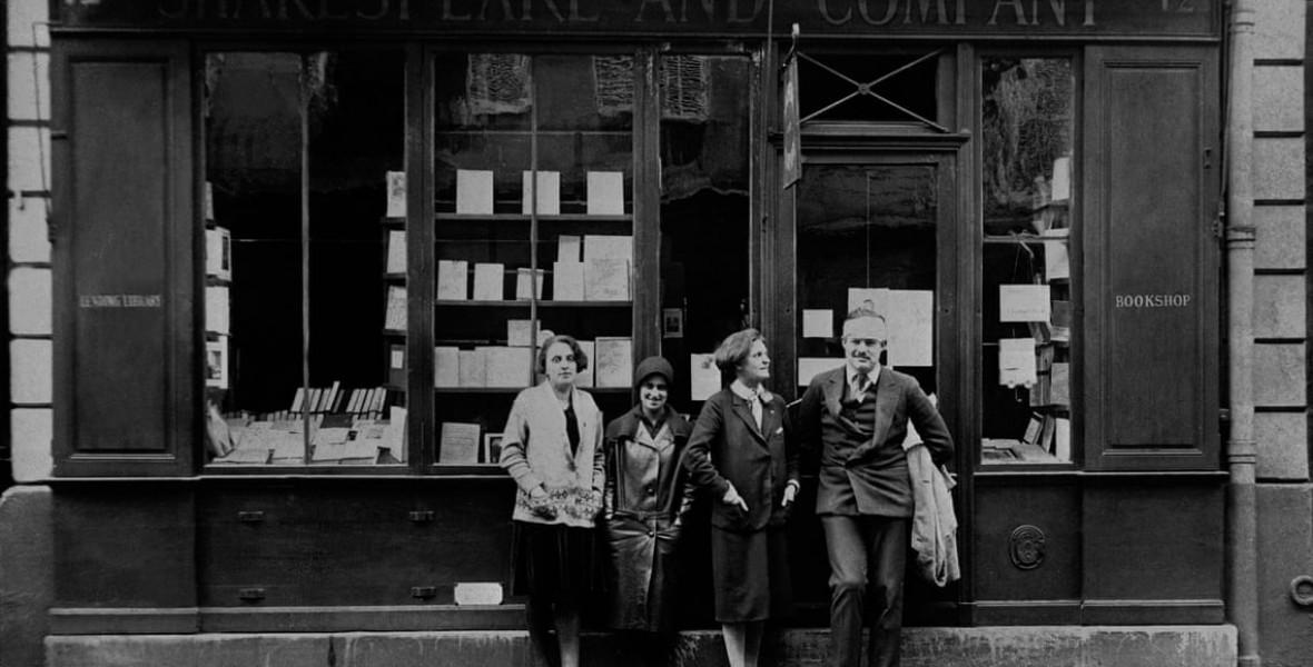 A kor írócelebjei mind ebbe a párizsi könyvesboltba jártak