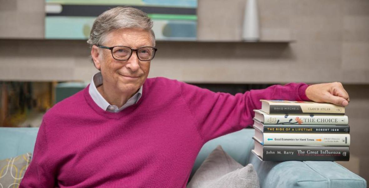 Bill Gates ezt az öt könyvet ajánlja a nyárra