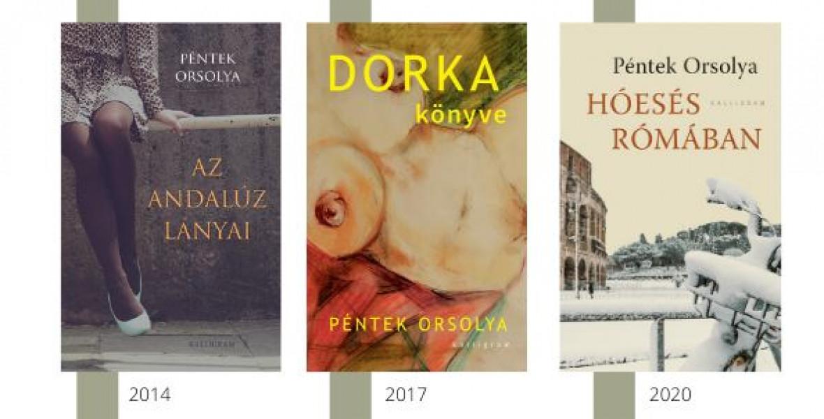 Rómában és Budapesten folytatódik Péntek Orsolya ágas-bogas családregénye