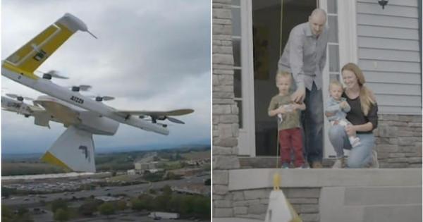 Egy amerikai könyvtáros drónnal szállítja házhoz a könyveket