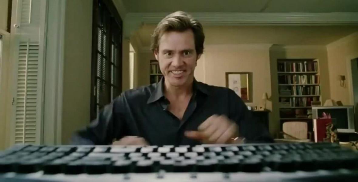 Jim Carrey a tökéletes könyvet kínálja a világ végéhez