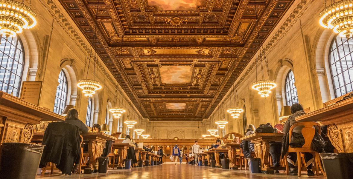 Járd be otthonról a New York-i Közkönyvtárat!