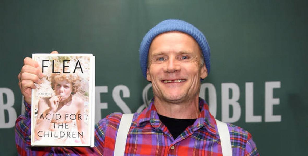 Flea: Az agyam eldobom, szinte LEBEGEK, fénysugarak hatolnak át a testemen