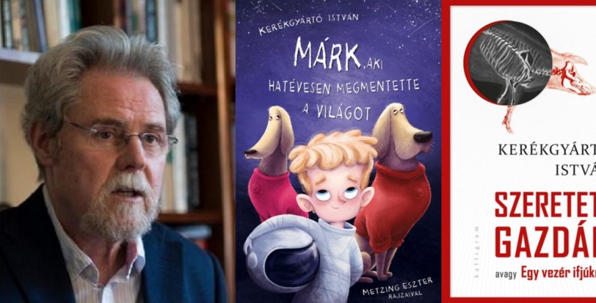 Politikai fejlődésregénnyel és gyerekkönyvvel vág neki az ősznek Kerékgyártó István