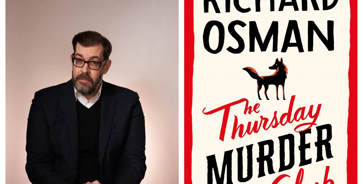 Sorra dönti az eladási rekordokat Richard Osman első könyve
