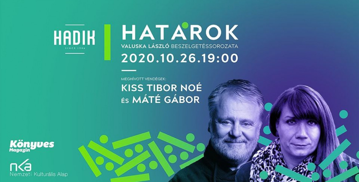 Kiss Tibor Noéval és Máté Gáborral indul a Határok a Hadikban