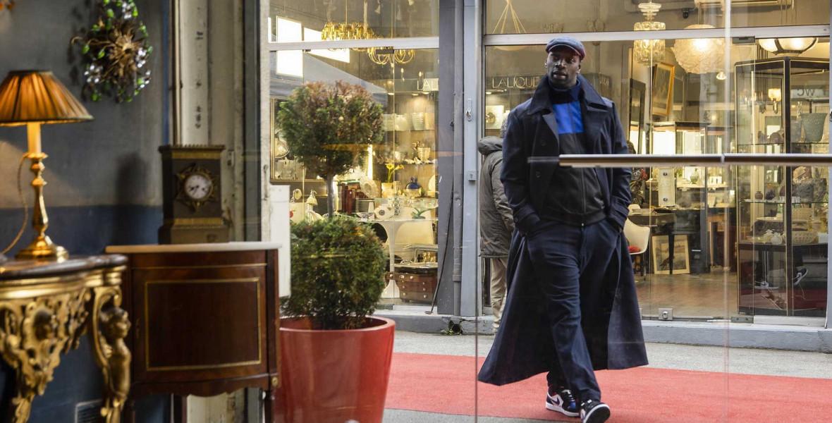 Arséne Lupin mestertolvaj ellopja a showt januárban a Netflixen