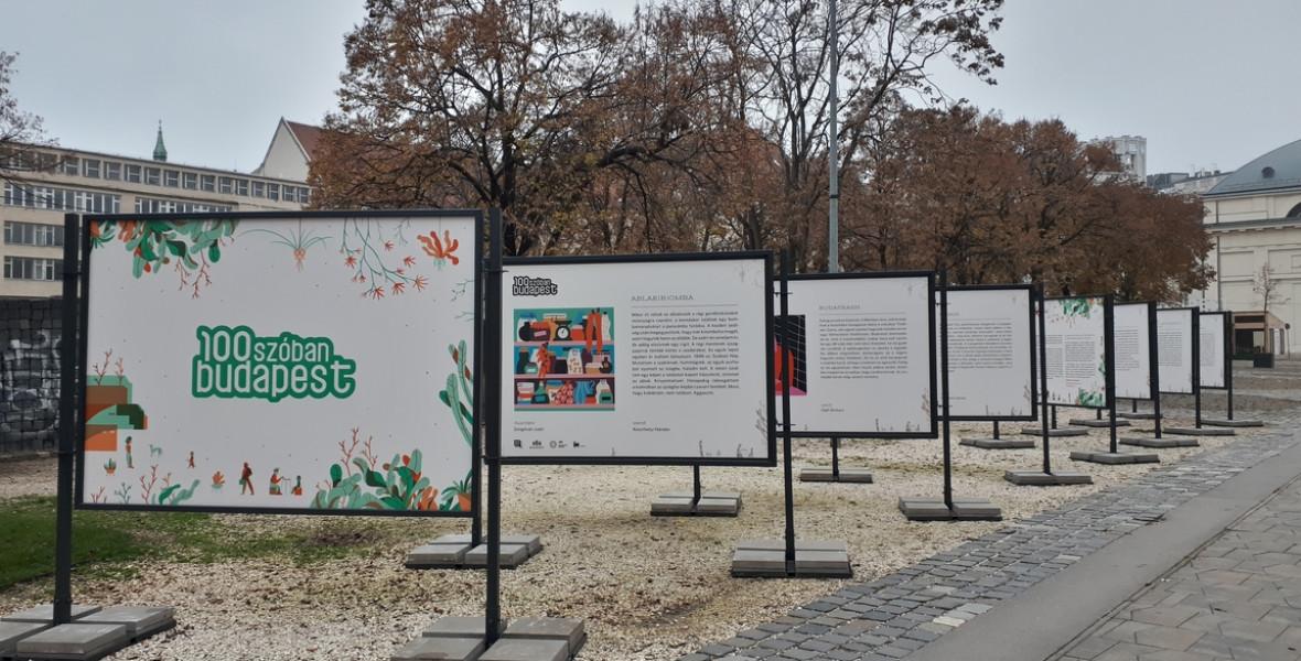 Köztéri kiállítással és új zsebkönyvvel zárja az évet a 100 szóban Budapest