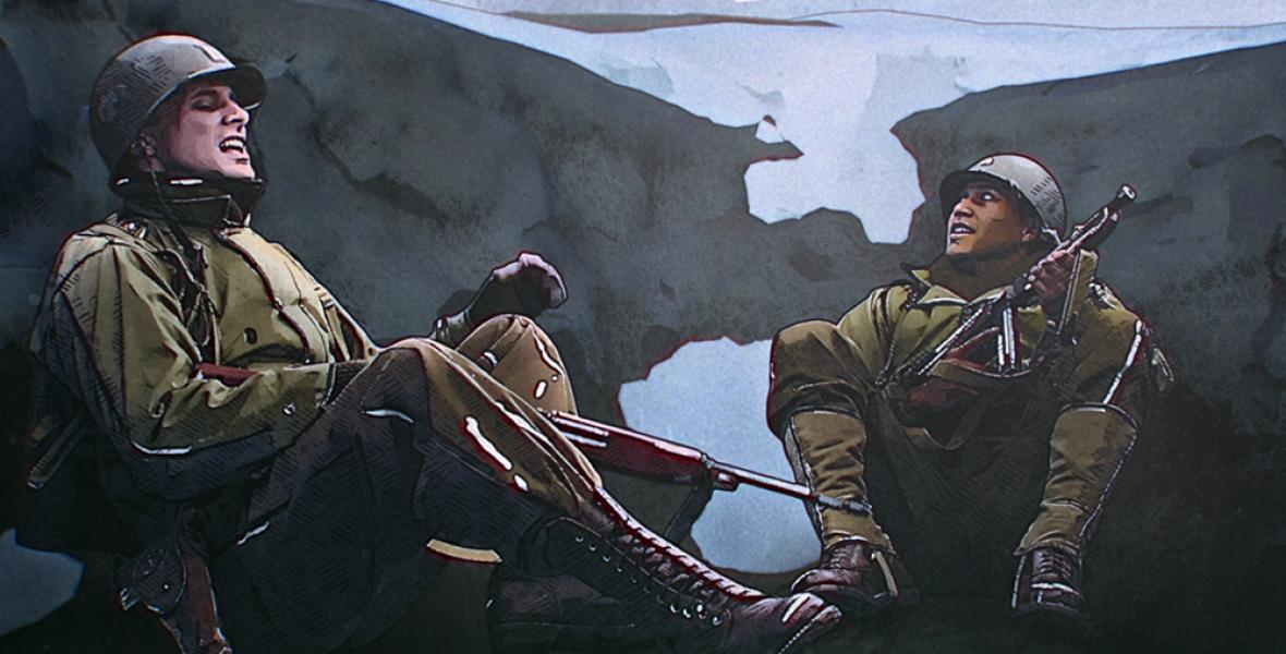 A felszabadító a háborúban talál rá az emberségre