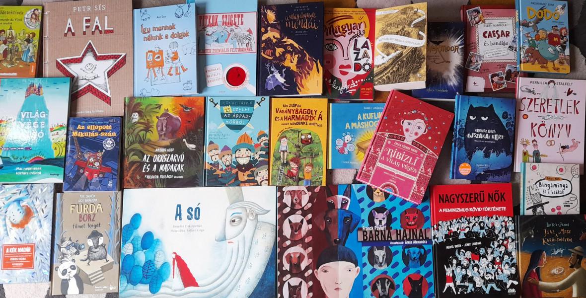 HUBBY: Ajándékozzatok gyerekkönyvet karácsonyra!