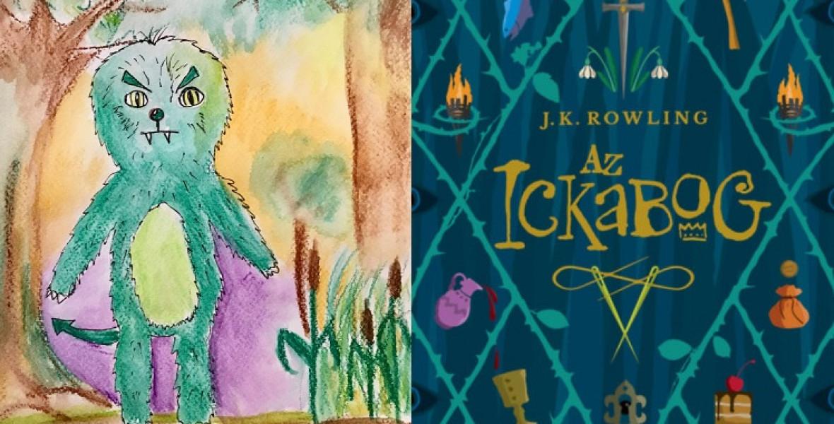 Magyar gyerekek illusztrálták J.K. Rowling új meseregényét