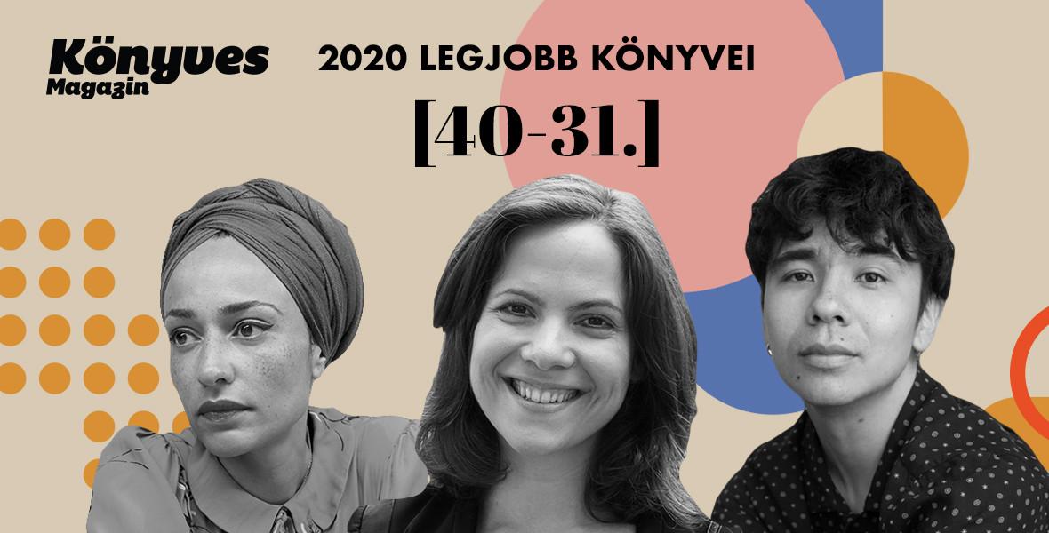 2020 legjobb könyvei 40-31.