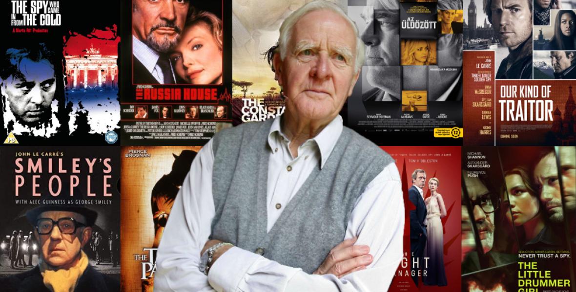 10 filmes adaptáció John le Carré írótól, aki megújította a kémfilm műfaját