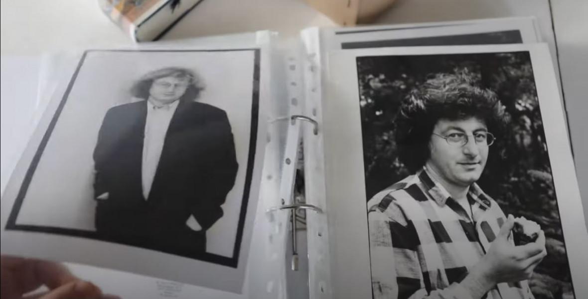 Esterházy-portrék rövid hajjal, focistaként és derűsen