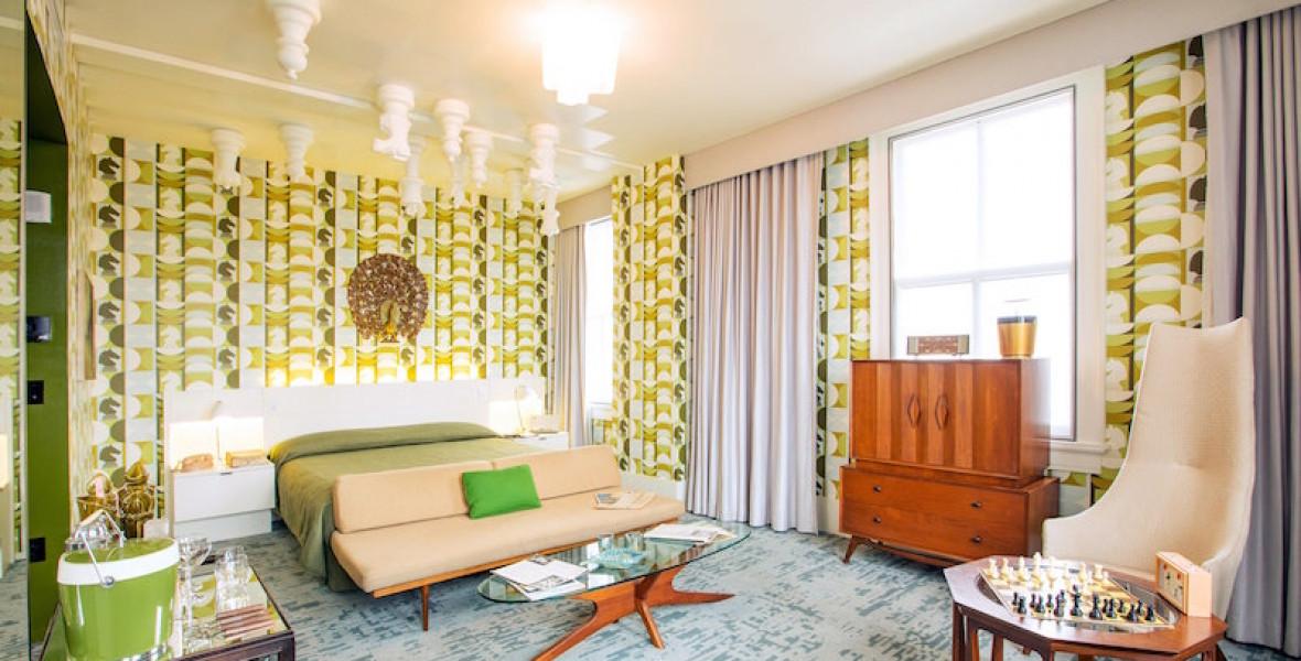 Egy amerikai hotel a Vezércsel mintájára alakította át az egyik szobáját