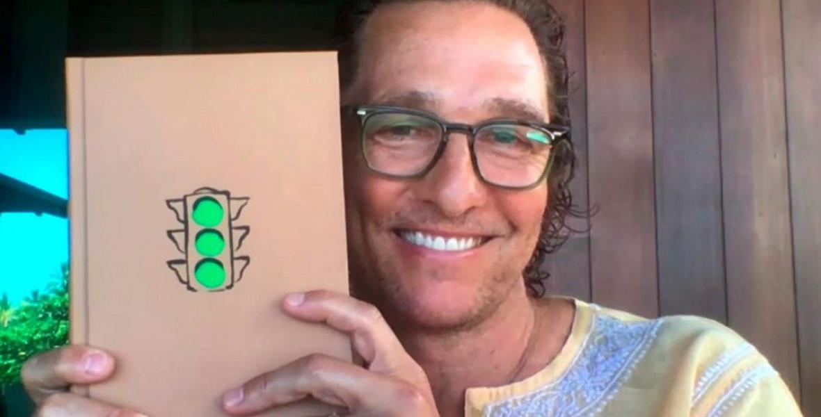 Matthew McConaughey-t elkapta a zöldhullám, sztorizni kezdett