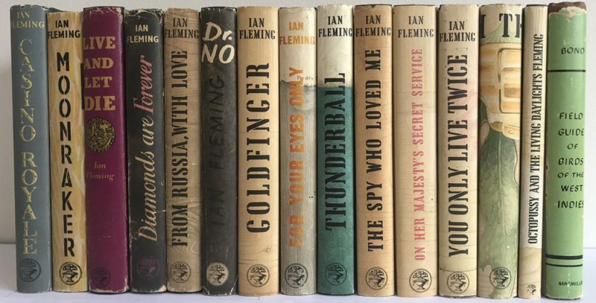 Kész vagyont érnek az első kiadású Bond-regények
