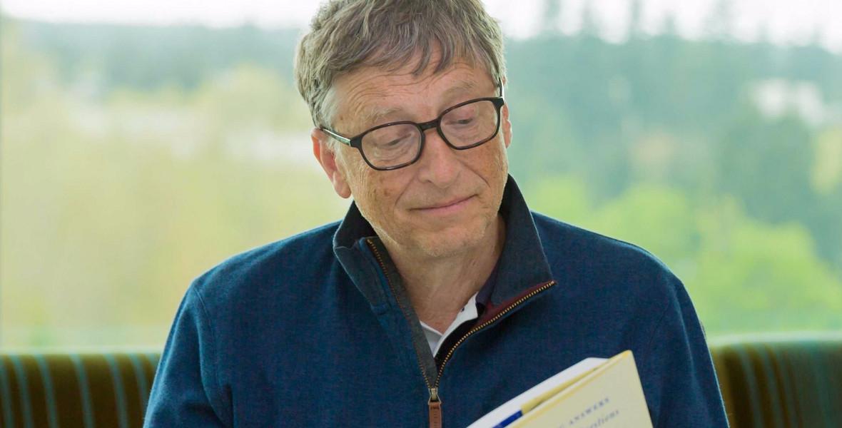 Milyen könyveket szeret és milyeneket hiányol Bill Gates?
