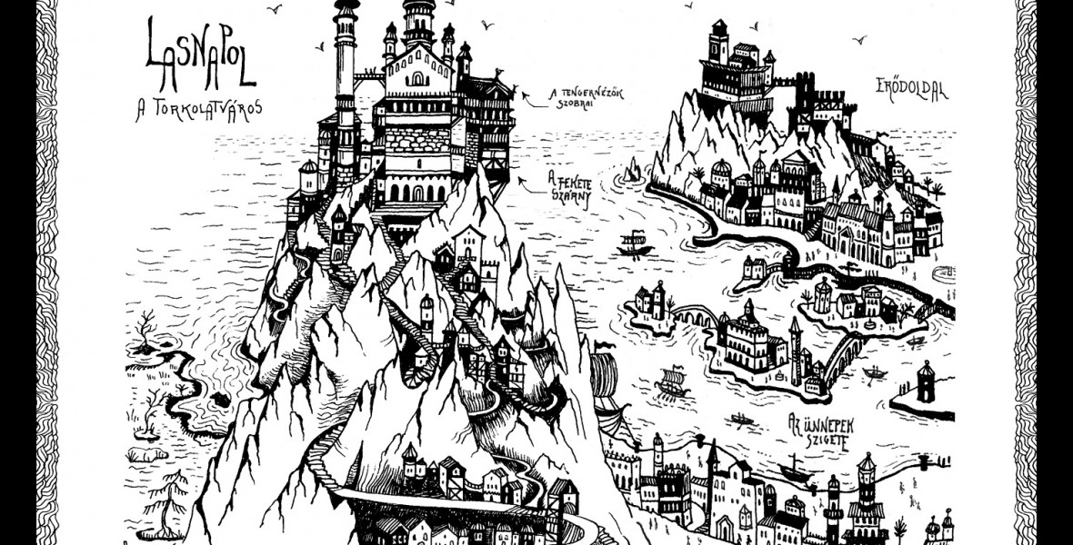 Schmal Róza már gyerekkorában elkezdte benépesíteni Ladann képzeletbeli királyságát