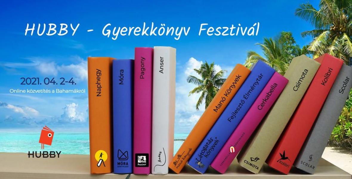 Online Gyerekkönyv Fesztivált szervez a HUBBY