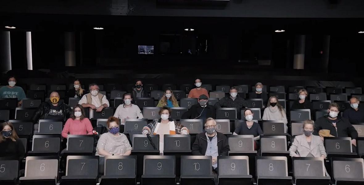 Irodalmi teázás az Örkény Színház színészeivel