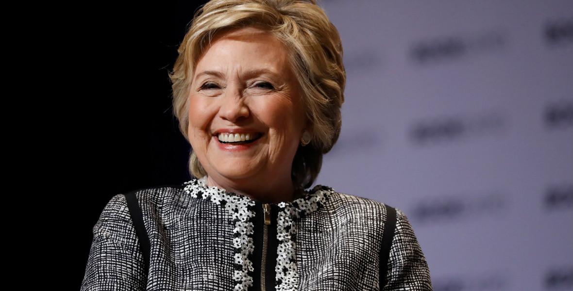 Hillary Clinton thrillert ír