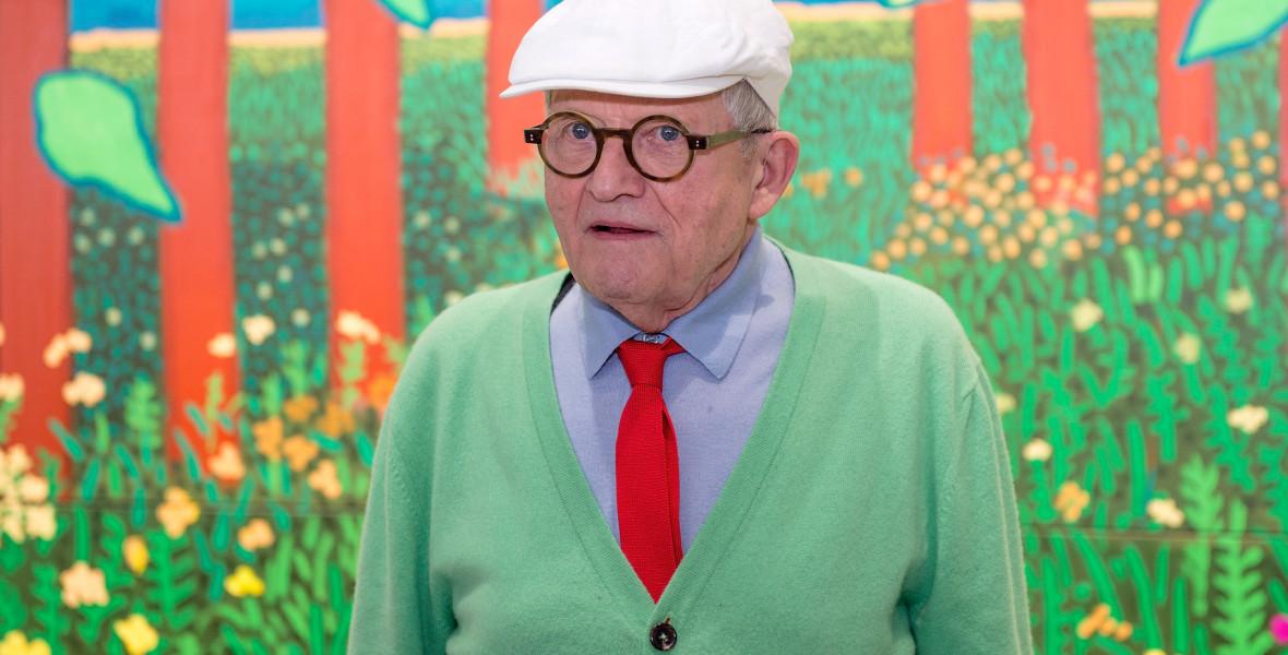 Pörgesd végig David Hockney vázlatfüzetét!