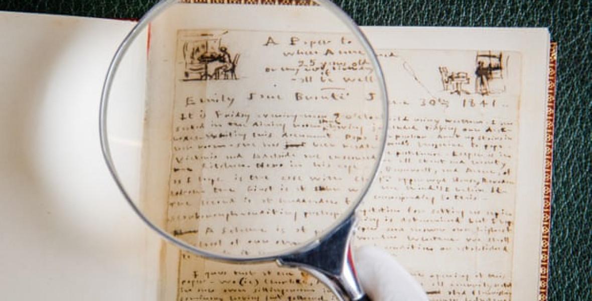 Emily Brontë kézírásos verseire is lehet licitálni a nyáron