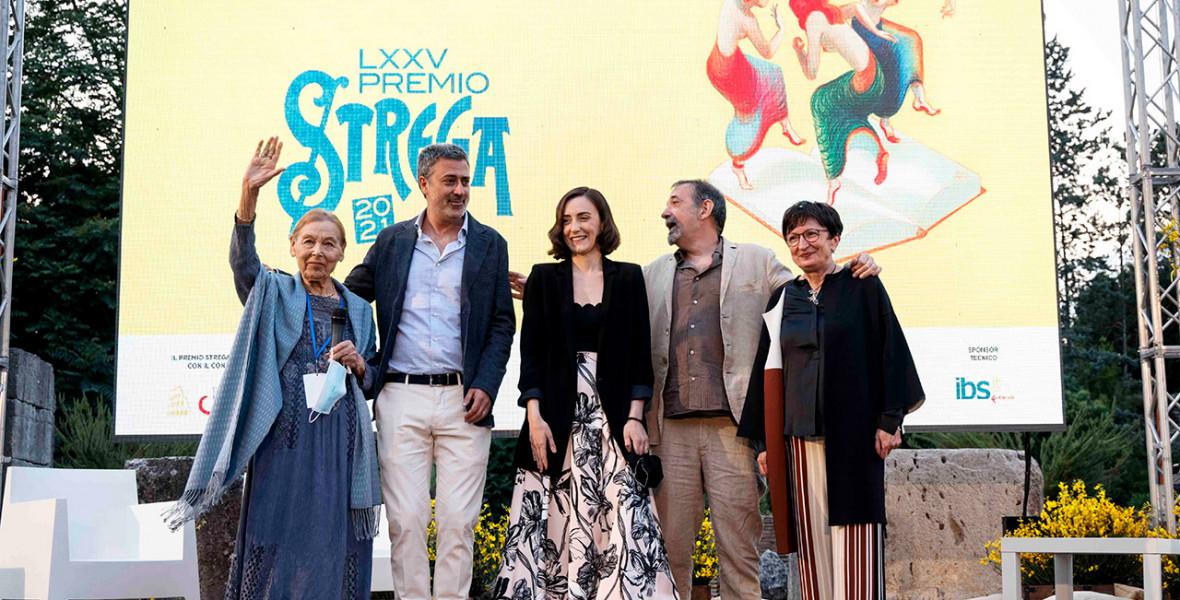 Bruck Edith az olasz Strega-díj finalistái között