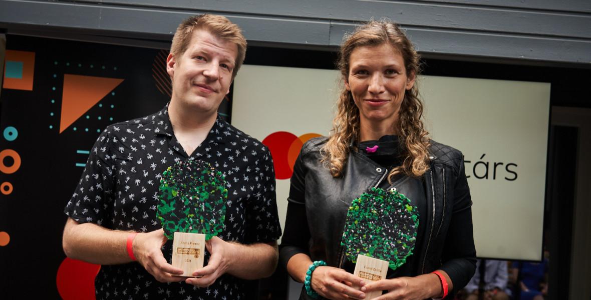 André Ferenc és Czakó Zsófia a Mastercard – Alkotótárs ösztöndíj győztesei