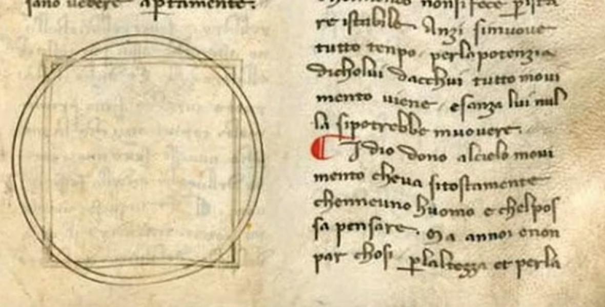 Dante fiatalkori kéziratára bukkanhatott egy apáca
