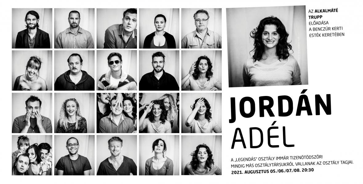 Jordán Adél a színpadon örökölte sorsát