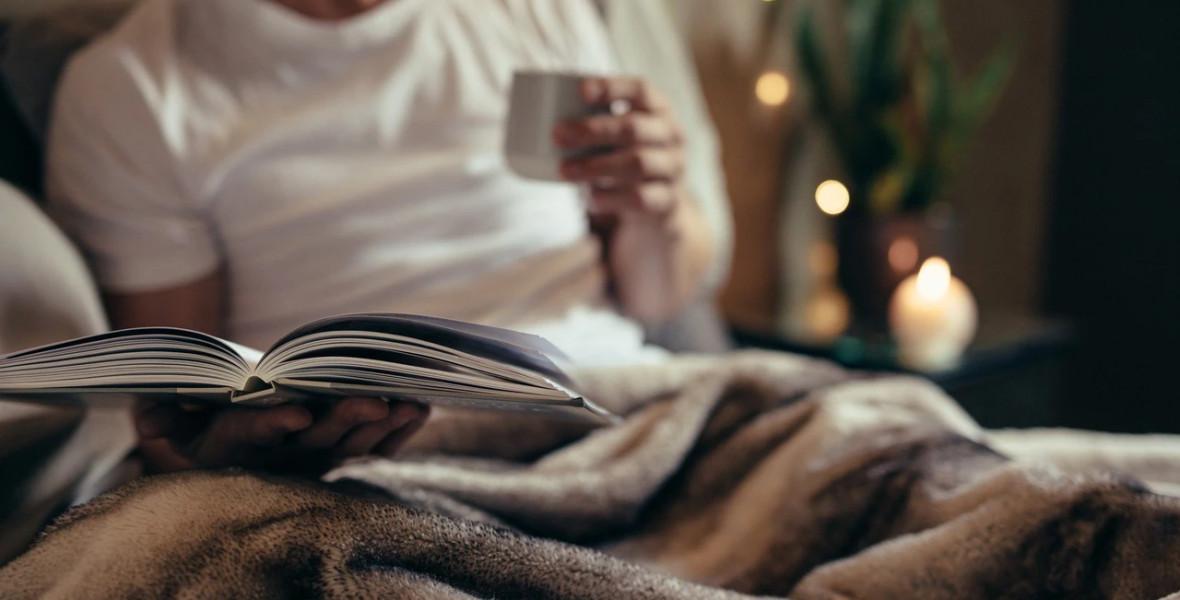 Az olvasás megoldást jelenthet az alvászavarra