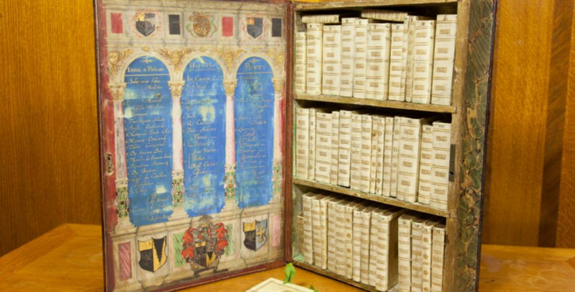 Egy 17. századi mozgatható könyvtár volt a Kindle őse