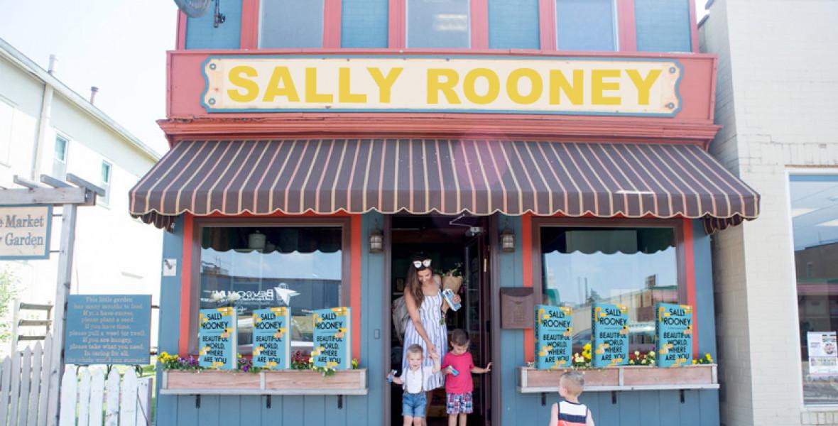 Sally Rooney pop-up bolt nyílik Londonban