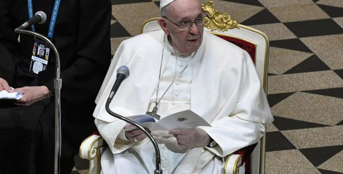 Ferenc pápa Budapesten Radnótit idézett