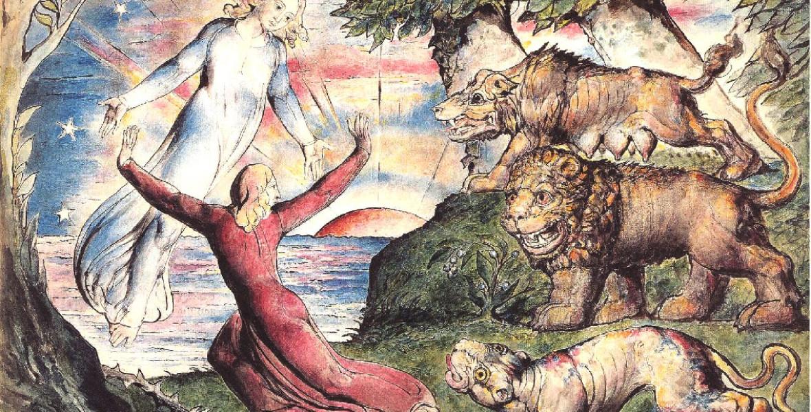 Blake 102 illusztrációt készített az Isteni színjátékhoz, most kiadták őket