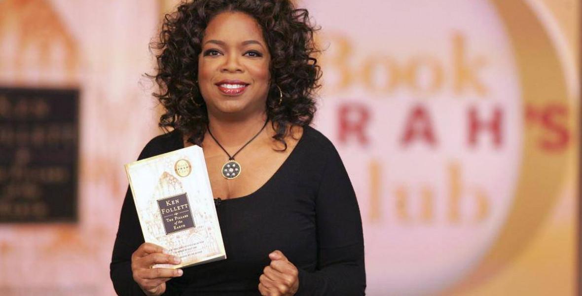 Oprah könyvklubja 25 éve határozza meg, mit olvassanak az amerikaiak