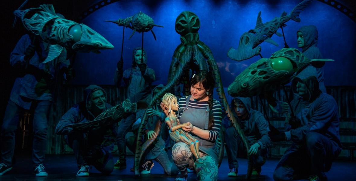 Gimesi Dóra hőse legszívesebben egy kis tengeri uborka lenne az akvárium fenekén