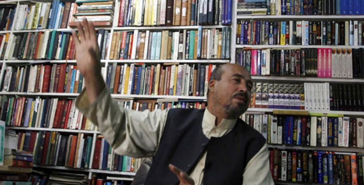 Nem adja fel a kabuli könyvesboltos