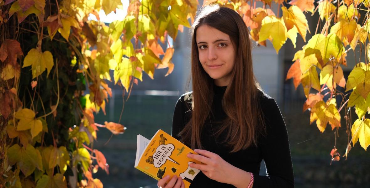 Balássy Fanni: Az írás munka, kitartó próbálkozás, mindennapos feladat