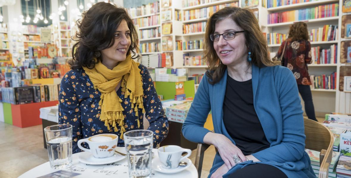 Berg Judit és Kertész Erzsi – Amikor az egyik író nem tudja előre, hogy mit akar a másik