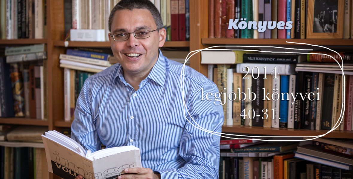 2014 legjobb könyvei: 40-31.