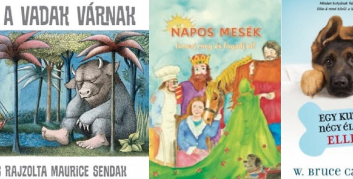 Ezek a könyvek kaptak Szívünk rajta-matricát!