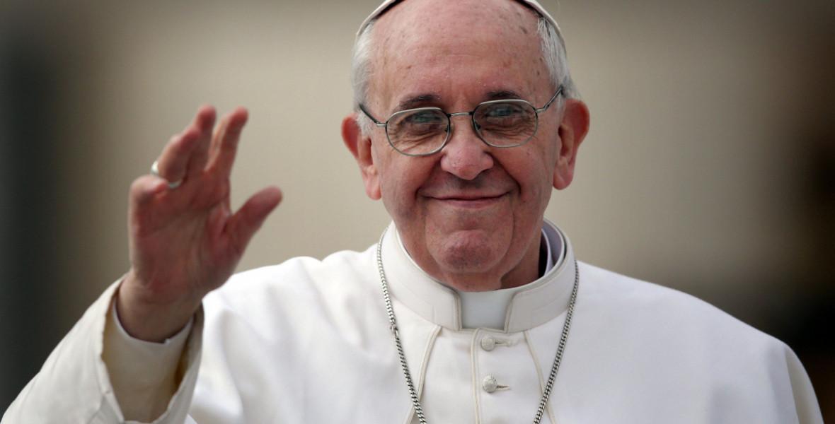 """Ferenc pápa: """"Az irgalmasság a mi Istenünk személyi igazolványa"""""""