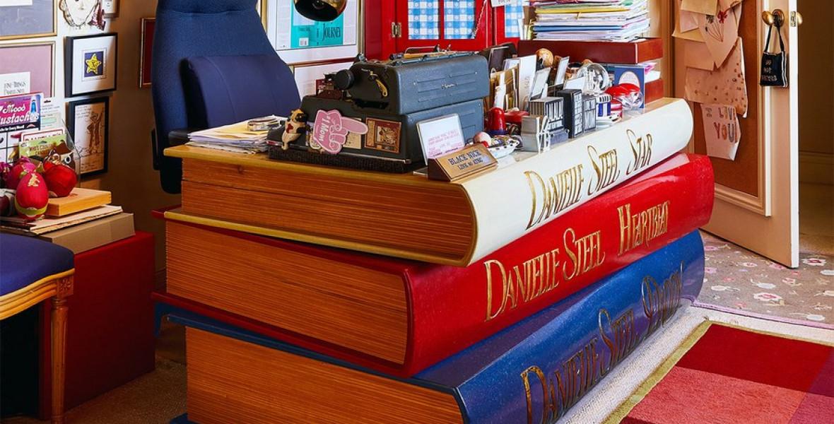 Danielle Steel íróasztala egy CSODA