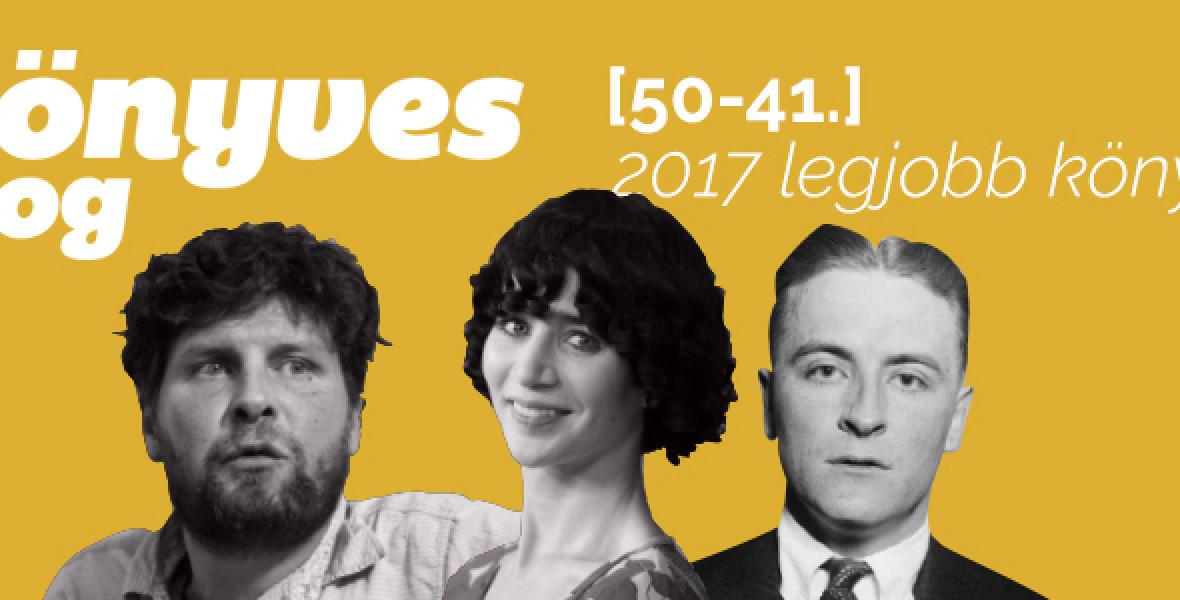 2017 legjobb könyvei: 50-41.